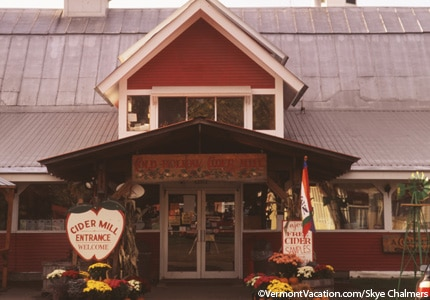 Cold Hollow Cider Mill in Waterbury Center, Vermont