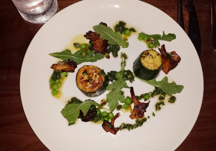 Savor a meal at Hen of the Wood restaurant in Waterbury, Vermont