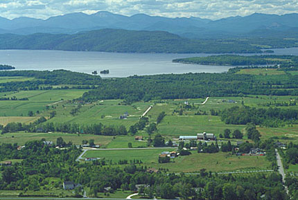 Scenic Overlook from Mt. Philo State Park