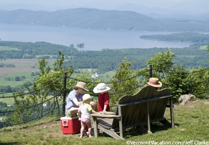 Mount Philo State Park in Charlotte, Vermont