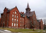 The University of Vermont's Old Mill Building