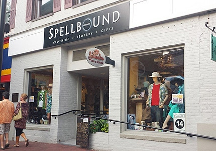 Shop the latest fashions at the Spellbound boutique in Burlington, Vermont