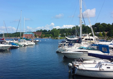 Enjoy a boat ride during your stay in Vermont