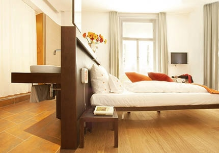 A guest room at Hollmann Beletage in Vienna, Austria