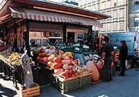 Naschmarkt in Vienna is one of Central Europe's best outdoor markets
