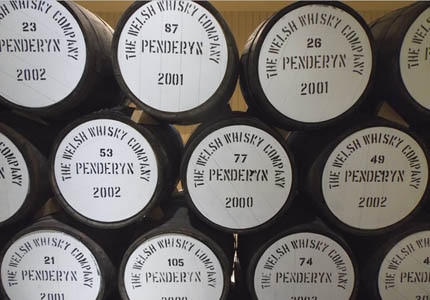 Wales' only whiskey distillery is located in Penderyn