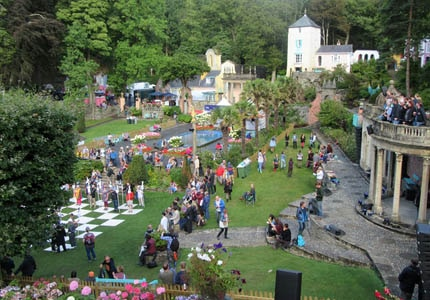 Celebrate art, music and individuality at the Number 6 Festival in Portmeirion, Wales