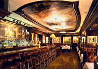Enjoy hearty American fare at Grant's Bar at the Old Ebbitt Grill