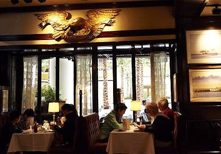 The dining room at Old Ebbitt Grill in Washington D.C.