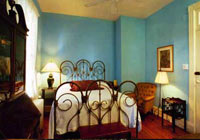 Rooms at the Hotel Tabard Inn are filled with history