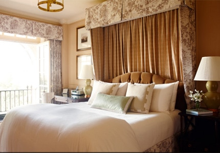 A guest room at The Hay Adams in Washington, D.C.
