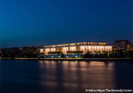 The Kennedy Center in Washinton D.C.