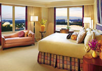 Enjoy the view from the Mandarin Oriental Water Premiere Room