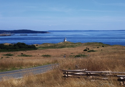 San Juan Island in Washington is a fantastic destination for whale watching, kayaking and camping