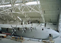 Howard Hughes' Spruce Goose at the Evergreen Aviation Museum
