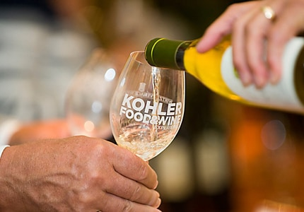 Enjoy savory food and wine at the Kohler Food & Wine Experince