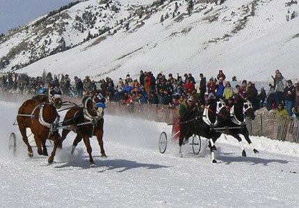 The Cutter Races at the Jackson Hole WinterFest