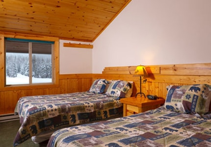 Room at Togwotee Mountain Lodge in Moran, Wyoming