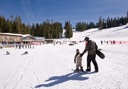 During winter, head to the Badger Pass Ski Area and hit the slopes