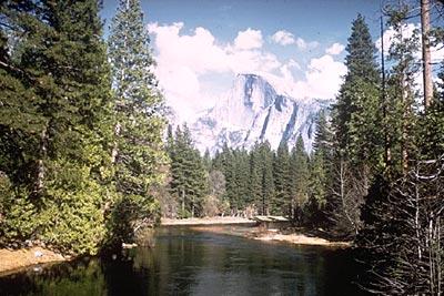 Find beauty at its most natural state at Yosemite National Park, CA