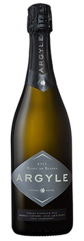 Argyle 2011 Blanc de Blancs offers a creamy finish of almond and pear