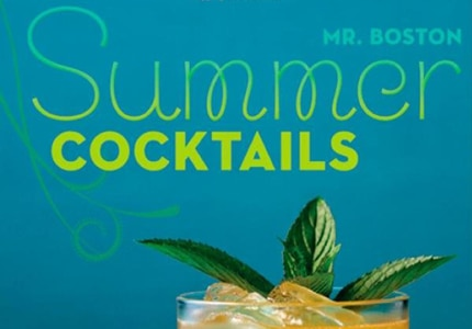 Mr. Boston Summer Cocktails incorporates herbs into its drink recipes
