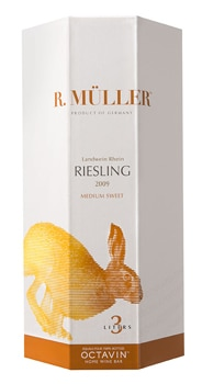 Try the R. Müller Medium Sweet Riesling with pasta, light seafood dishes or Asian cuisine