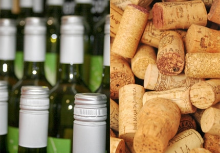 For the moment, the logical thinking would be that for near-term consumption, screw caps are just fine, while for aging, cork is it