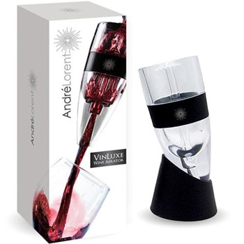 The Andre Lorent VinLuxe Wine Aerator, one of GAYOT's Top 10 Wine Gifts