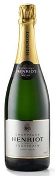 Champagne Henriot Burt Souverain has notes of white flower and citrus fruit