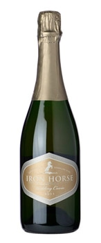 Iron Horse 2011 Wedding Cuvee boasts flavors of raspberry, pink grapefruit, blood orange and lime
