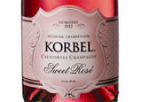 Korbel Sweet Rose is one of our Top 10 Sweet Sparkling Wines