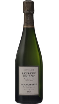 This biodynamic Champagne boasts aromas of lime, lemaon and brioche