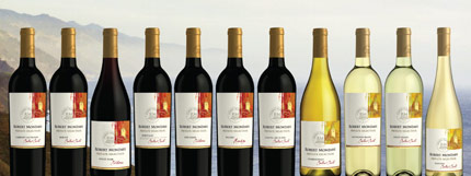 Robert Mondavi Private Selection wines
