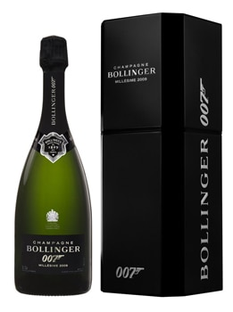 Champagne Bollinger releases a limited edition for the James Bond film release of SPECTRE