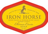Iron Horse 2004 Chinese Cuvee was served at the recent US-China summit meeting in California