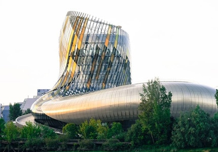 La Cite du Vin is located in Bordeaux, France