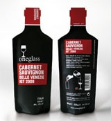 Oneglass single-pour packaging