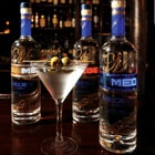 The Medea Vodka bottle boasts an LED display that allows you to program your own messages