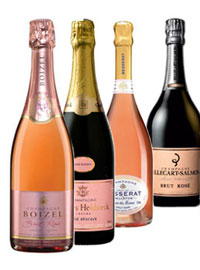 Think pink with the best rosé Champagnes!