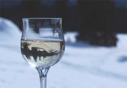 There's nothing quite like curling  up with a glass of Viognier during the holidays