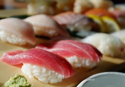 With a little bit of thought, you can pick some inexpensive wines that are perfectly delicious with sushi and sashimi