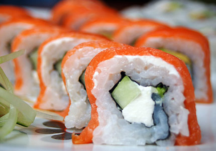 Discover which wines pair best with sushi