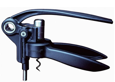 Le Creuset's Screwpull Lever Model has an ultra long-lasting screw which allows for up to 2,000 bottle openings