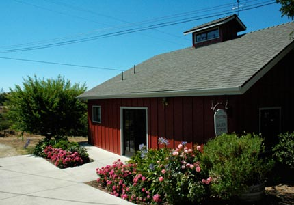 Beckmen Vineyards' tasting room in Los Olivos, CA