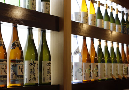 Shunji's selection of Japanese sake