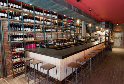 Terroir Tribeca, one of our Top 10 Wine Bars in New York (Photo by Daniel Krieger)