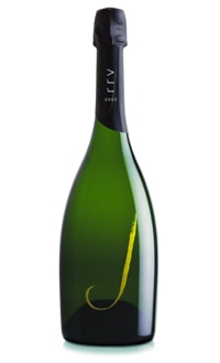 J 2003 Late Disgorged Vintage Brut, one of GAYOT.com's Top 10 American Sparkling Wines