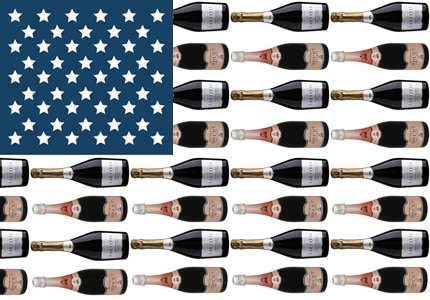 America's best and brightest sparklers are featured on GAYOT's Top 10 American Sparkling Wines