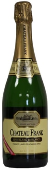 Chateau Frank 2010 Blanc de Blancs boasts aromas of peach, lime and pear